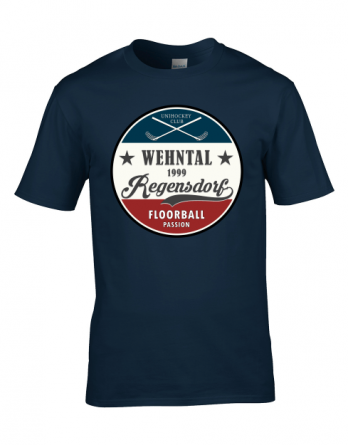 "T-Shirt ""Retro"" Navy"