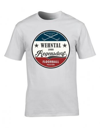 """T-Shirt """"Retro"""" Weiss"""